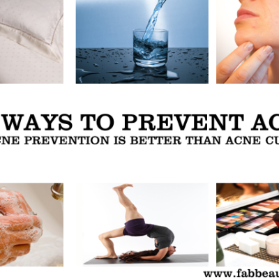 How to Prevent Acne and Pimples – Top 10 Ways