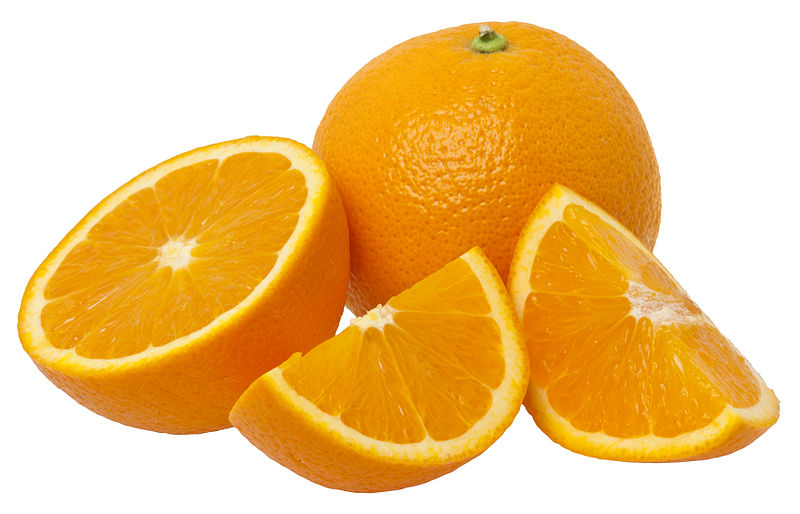 vitamin c, oranges, food for healthy hair