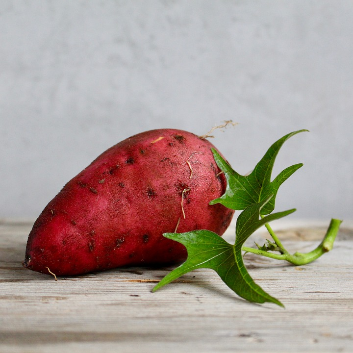 sweet potato,food for hair,food for healthy hair