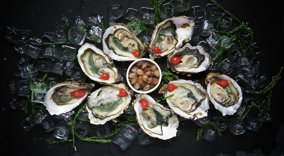 oysters,food for hair, best food for hair