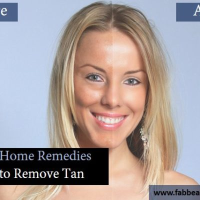Top 30 Home Remedies To Remove Tan Permanently