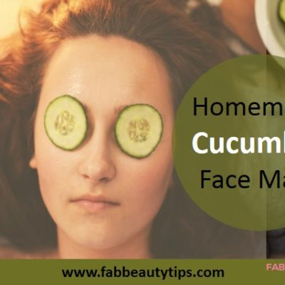 18 Homemade Cucumber Face Mask