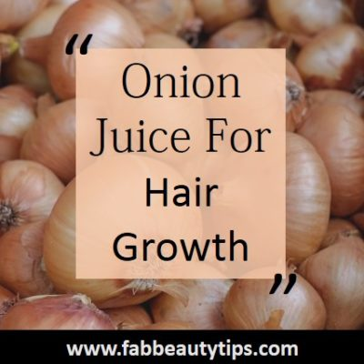 12 DIY Onion Juice For Hair growth