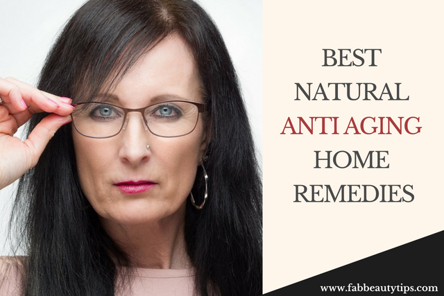 23 Best Natural Anti Aging Home Remedies