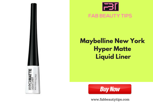 Maybelline New York Hyper Matte Liquid Liner ;