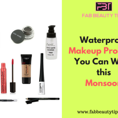 10 Waterproof Makeup Products you can try this Monsoon