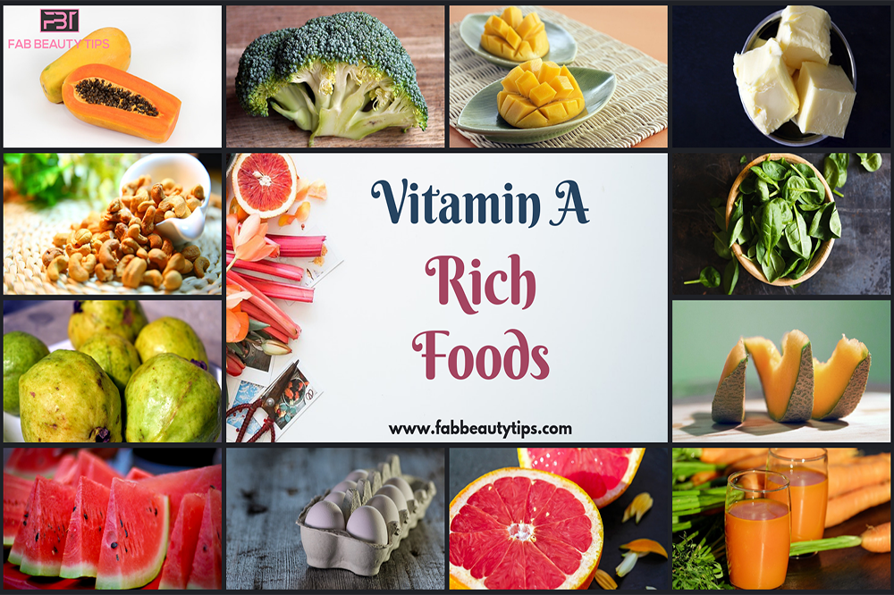 vitamin a foods for skin, vitamin a rich foods, vitamin a foods