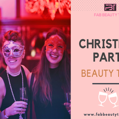 Christmas party beauty tips