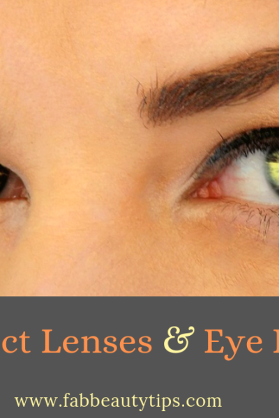 colored contact lenses, Contact Lenses and Eye Infections, Eye Infections