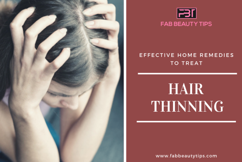 Hair Thinning, home remedies to treat hair thinning, thinning hair, Treat Hair Thinning