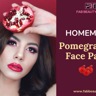 12 Must try Homemade Pomegranate Face Packs