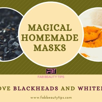 Magical Homemade Masks to Remove Blackheads and Whiteheads