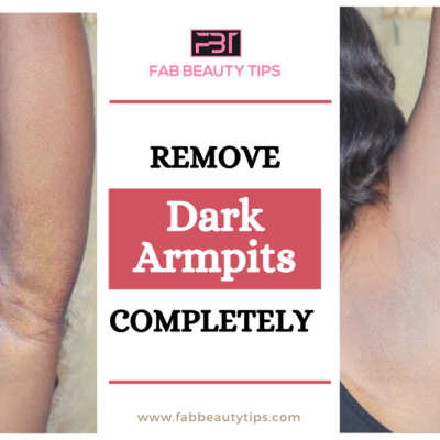 Get rid of dark armpits in a week with this 2 Home Remedies