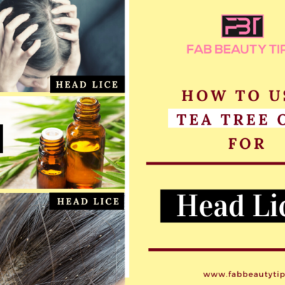 Top 3 Remedies – How to use tea tree oil for head lice