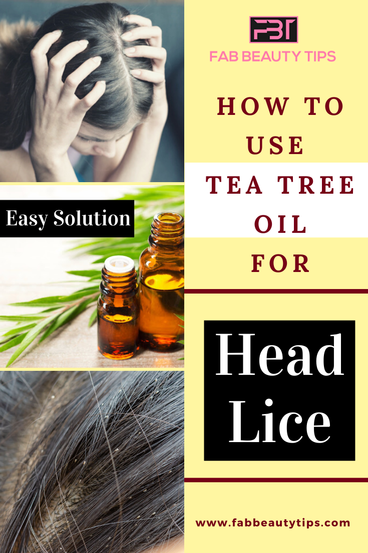 How to use tea tree oil for head lice, tea tree oil for head lice, remove head lice with tea tree oil, get rid of head lice with tree tea oil