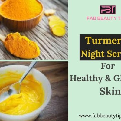 Turmeric night serum for healthy & glowing skin