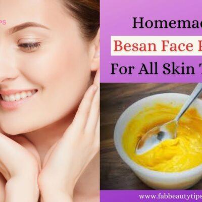 25 Homemade Besan face packs for all skin types