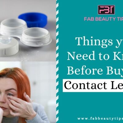 What you Need to Know Before Buying Contact Lenses
