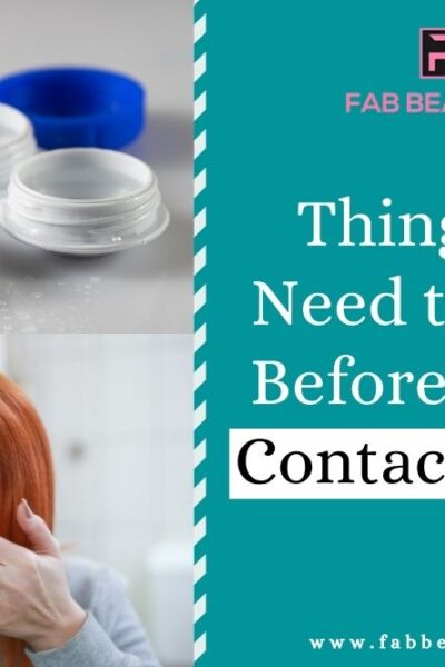 Buying Contact Lenses, Things you need to Know Before Buying Contact Lenses