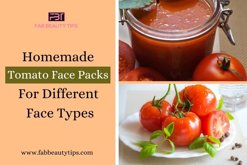 18 Homemade Tomato Face Packs For Different Face Types