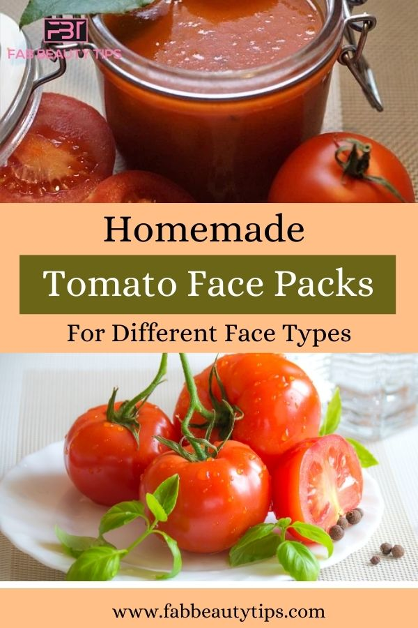 18 Homemade Tomato Face Packs For Different Face Types.