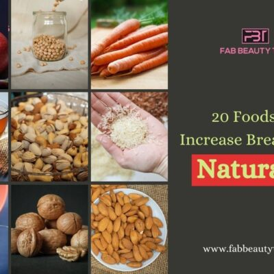 20 Foods To Increase Breast Size Naturally