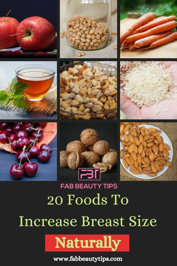 20 Foods To Increase Breast Size Naturally.